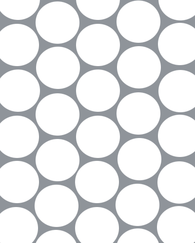 Wide Hole Perforated Sheets